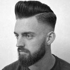Coupe De Cheveux Fondu, Coupes De Cheveux Pour Les Hommes, Styles Pour Hommes, La Coiffure, Recherche Google, Mode, Pompadour Haircut, Haircut Google,