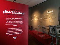 Exhibition design for the Glass Museum of Bogota. 2014