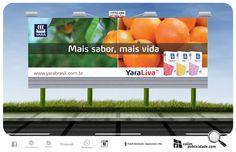 Impressão de papéis e exibição de outdoores para Yara Brasil para campanha Mais sabor, mais vida. #yara #outdoor #valim #avare #pardinho #sp280 #sp255 #exibição #brasil