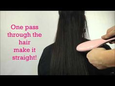 Gentle FAST Hair Straightening Brush – Beautiful With Rachel