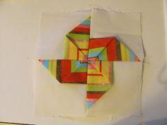 Dimensional Pinwheels - Quilt Doodle Doodles...