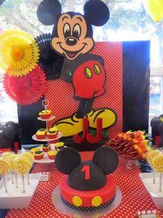Decoración de Fiestas Infantiles de Mickey Mouse | Fiestas ...