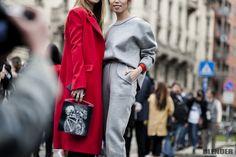 Maria & Oksana - MilanFashionWeek