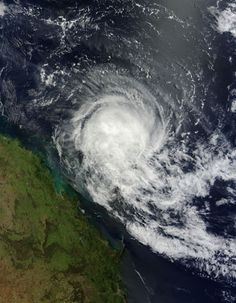 Tropical Cyclone Tim (20P) in the Coral Sea