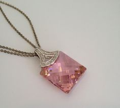 Vintage Sterling Silver Pink Tourmaline and by WOWTHATSBEAUTIFUL, $119.00