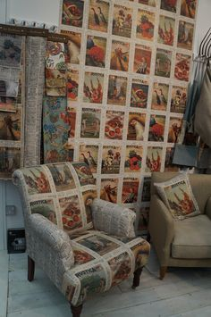 Ian Sandersons new fabrics
