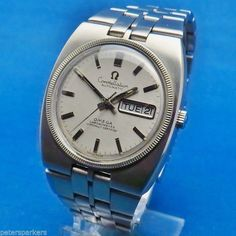 OMEGA CONSTELLATION VINTAGE STAINLESS STEEL AUTOMATIC WRISTWATCH 168.045 -1000 EURO