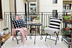 Una preciosa casa en blanco y rosa con un resultado genial