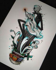 Dibujos Coffin Nails coffin nails with flowers Disney Sketches, Disney Drawings, Cartoon Drawings, Art Sketches, Art Drawings, Desenhos Tim Burton, Nightmare Before Christmas Drawings, Desenhos Halloween, Tim Burton Art