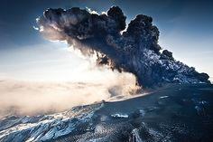 Massive volcanic ash cloud