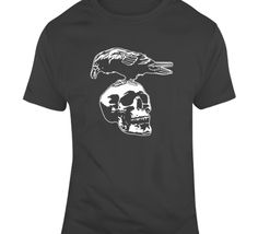 The Expendables Crow Skull Tattoo T Shirt Tattoo T Shirts, Tattoos, Crow Skull, Skull Tattoo Design, Japanese Poster, Japanese Graphic Design, The Expendables, Exhibition Poster, Shirt Designs
