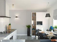 COCO romans z błękitami - zdjęcie od COCO Pracownia projektowania wnętrz - Kuchnia - Styl Klasyczny - COCO Pracownia projektowania wnętrz
