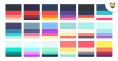 Color Hunter: curated collection of beautiful colors, updated daily.