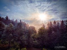 Sonnenaufgang | Sunrise (Aerial Photo) by Jörg Schumacher | einfachMedien.de on 500px