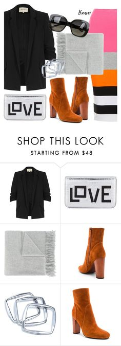 """""""3COLORS"""" by bianca1408 ❤ liked on Polyvore featuring River Island, Les Petits Joueurs, Acne Studios, 10 Crosby Derek Lam, GUESS by Marciano and Bottega Veneta"""