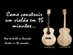 Passo a Passo Guitarra em biscuit - YouTube