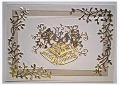 Kandy's Krafts: Tattered Lace-Florentine Bells
