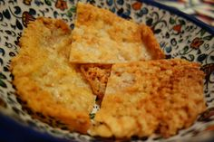 Fry Your Frico Flag - Fried Montasio cheese