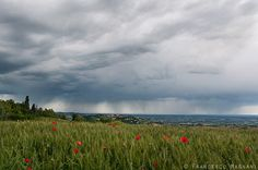 Storm clouds in Romagna by Francesco Magnani