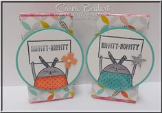 Cheerful Critters, Favor, Easter, Bunny, jelly beans, Stampin' Up!, #stampinup, Connie Babbert, www.inkspiredtreasures.com
