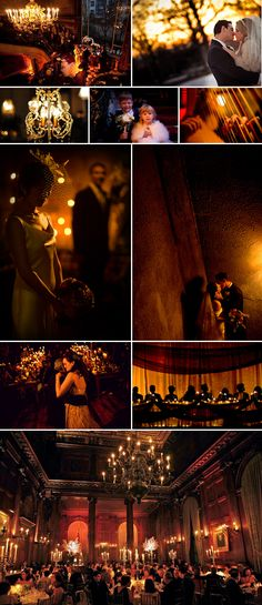 Candlelit Romance Winter Wedding Ideas and Inspiration | via junebugweddings.com
