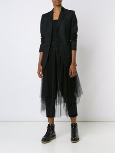 Y's асимметричная юбка-пачка