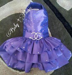 CoCos Couture Swarovski Designer Dress