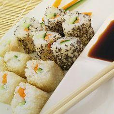 Nori Sushi, Mashed Potatoes, Ethnic Recipes, Seaweed, Carrots, Recipies, Food, Sushi Recipes, Small Bowl