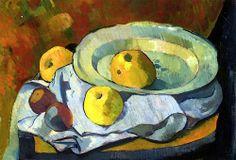 Plate of Apples  Paul Serusier - circa 1891