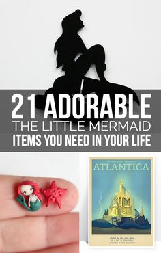 """21 Adorable Items For Every """"The Little Mermaid"""" Fan"""