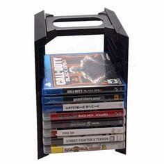 Almacenamiento multi funcional para el estante de acogida dispositivo de juego PS4 para PlayStation 4 Venta - Banggood.com