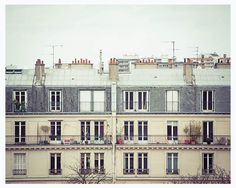 Paris+architecture+photography+balcony+windows+and+by+MyMonography,+£20,00