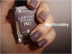 Rimmel's Steel Grey Nail Polish