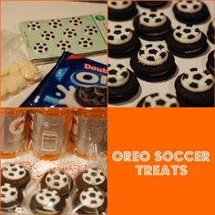Soccer End of the year treat bags made with Oreos. Super easy and tasty!