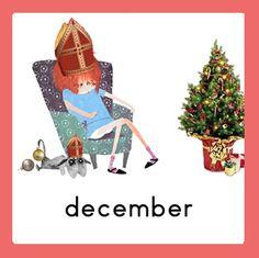 Jaarkalender Floddertje: december School Jobs, Schedule Cards, Working With Children, Schmidt, Diy For Kids, December, 1, Diy Crafts, Seasons
