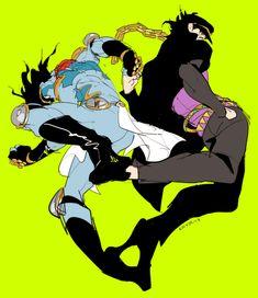 Jotaro Kujo and Star Platinum Jojo's Bizarre Adventure, Johnny Joestar, Tamako Love Story, Jojo Anime, Jotaro Kujo, Jojo Memes, Fanarts Anime, Jojo Bizarre, Art Reference