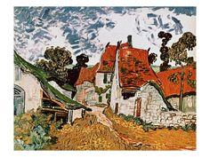 Van Gogh - Street in Auvers