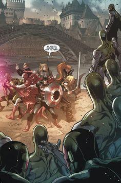 Avengers World #16    http://re-assembled.tumblr.com/post/104388364736/preview-avengers-world-16-release-date-december