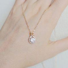 27+ Rose Gold Necklace For Her JPG