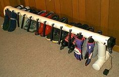 Free Standing Six Pair Boot & Glove Dryer Ski Boots, Riding Boots, Chalet Ski, Boot Dryer, Ski Rack, Boot Rack, Boot Storage, Safety Cover, Outdoor Gear