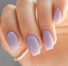 Makeup tutorials on glamour nails doing makeup doing makeup __ nailsby_mai frhlingsnagelkunst 2018 niedliche frhlingsnagel ideen Purple Gel Nails, Light Purple Nails, Lavender Nails, Light Nails, Glitter Nails, Light Nail Polish, Light Colored Nails, Violet Nails, Gel Nail Polish Colors