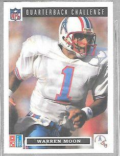e920b7d57 1991 Domino Pizza Quarterback Challenge Warren Moon Houston Oilers Football  #HoustonOilers Nfl Sports, Sports