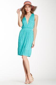 M Missoni SALE: Sleeveless Surplice Knit Dress