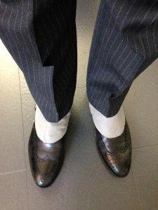 Gamaschen #gamaschen #spats #pinstripe #suit #nadelstreifen #adandyslife #anzug #vintage