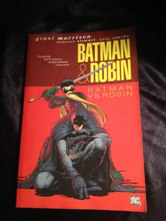 Batman & Robin vol 2: Batman VS Robin. DC Softcover Graphic Novel Grant Morrison