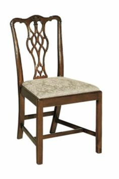 Massachusetts Chippendale Side Chair From The James River Collection By Hickory Furniture Co