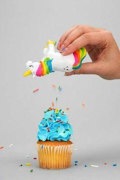 Unicorn Sprinkles Dispenser - Best Thing Ever!