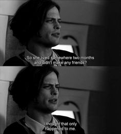So relatable. Only I can live somewhere two years and still not make friends...