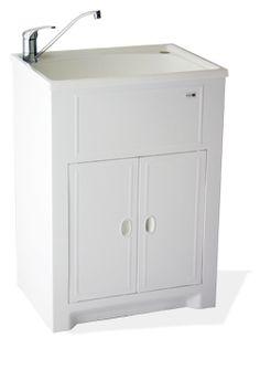 {Laundry} White Laundry Tub Standard #house #laundry #CorPrilHouse