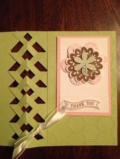 Petal Prints braided card